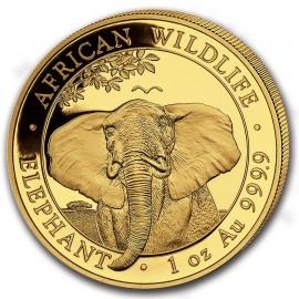 1 oz Somalia Elefant Gold 2019