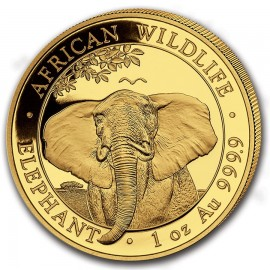 1 oz Somalia Elefant Gold 2021