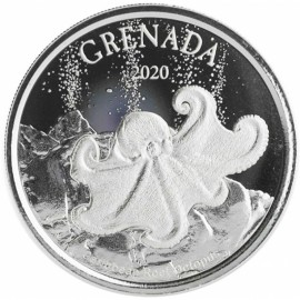 1 Unze Silber 2018 Grenada Diving Paradies