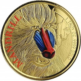1 Unze oz Gold 2020 Kamerun...