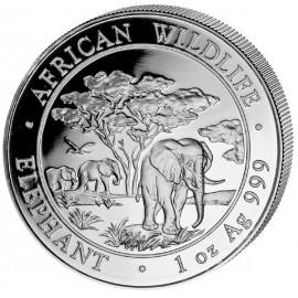 1 Unze Silber Somalia Elefant 2012
