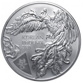 1 oz Unze  Silber Korea  Phoenix  2020