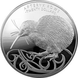 1 kg Silber Kiwi 2020  PP Box