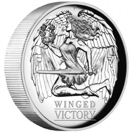 1 Unze Silber Winged Victory Perth Mint 2021 PP