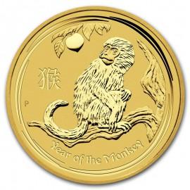 1 oz Gold Lunar II Affe 2016