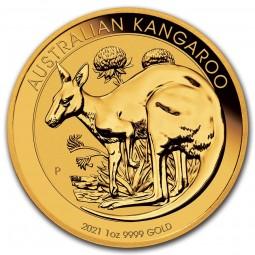 1 Unze Gold Känguru Nugget...