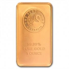 1 oz Känguru Gold Bar Perth Mint
