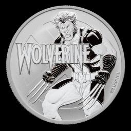 1 Unze Silber Wolverine...