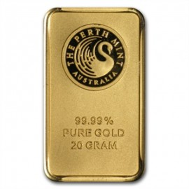 20 gr Känguru Gold Bar Perth Mint