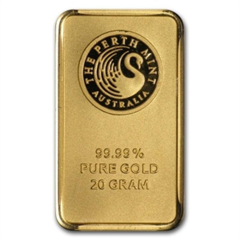 20 g Perth  Mint Känguru Goldbarren