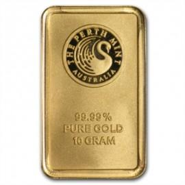 10 gr Känguru Gold Bar Perth Mint
