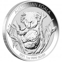 1 Unze Silber Koala 2021