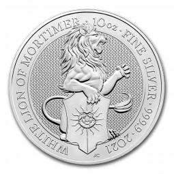 10 Unze Silber Queens...
