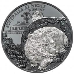 1 Unze oz Silber Wombat...