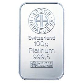 100 g Platin Bar