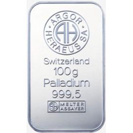 100 g Palladium Bar