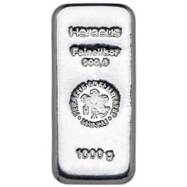 1000 g Silber Barren
