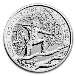 1 Unze Silber Robin Hood...