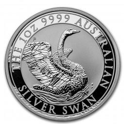 1 Unze Silber Schwan Perth...
