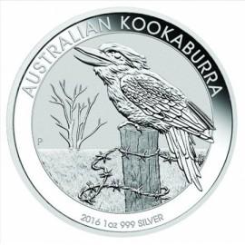 1 oz Silver Australien Kookaburra 2016