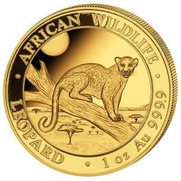 1 oz Somalia Leopard Gold 2021