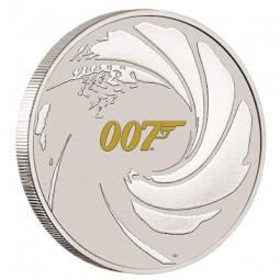 1 Unze Silber James Bond...