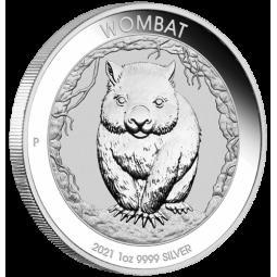 1 Unze Silber Wombat Perth...