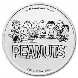 1 oz Unze  Silber Peanuts®...