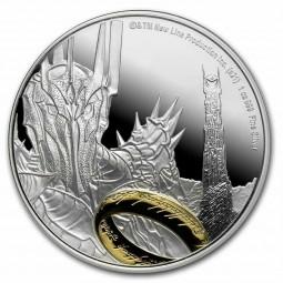 1 Unze Silber Sauron Herr...