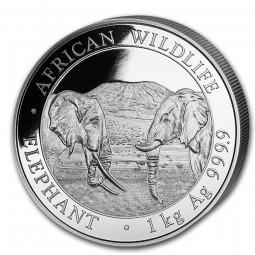 1 Kilo Silber Somalia...