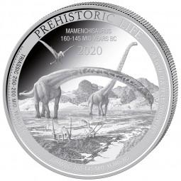 1 Unze Silber  Prehistoric...