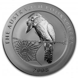 1kg Silber Kookaburra 2008