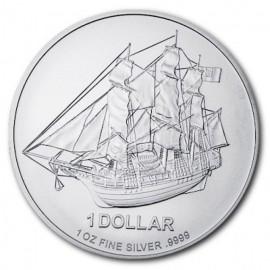 1 Unze Silber Cook Islands 2015