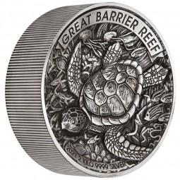2 kg Silber Great Barrier...