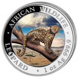 1 Unze Silber Somalia...