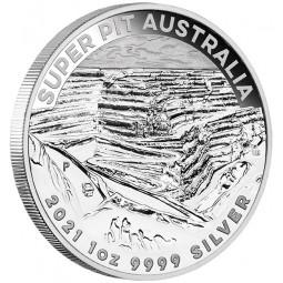 1 Unze Silber Super Pit...