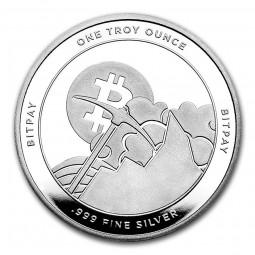1 Unze Silber  Bitcoin...