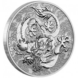1 Unze Silber   Dragon...