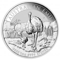 1 Unze Silber Emu Perth...