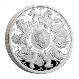1 Unze Silber Queens Beasts...