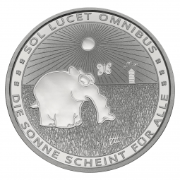 1 Unze Silber Ottifant 2021...