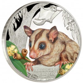 1 Unze Silber Mahagoni Gleithörnchen Beutler2015