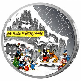 1 oz Silver Greetings Mickey Mouse