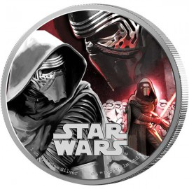 1 Unze Silber  Kylo Ren star Wars 2016
