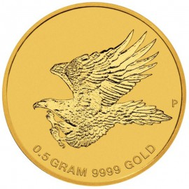 0,5 g Gold Wedge-Tailed Eagle im Blister