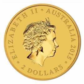 5 g  Gold Wedge-Tailed Eagle 2015