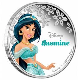 1 Unze Silber Jasmine Disney Nieu