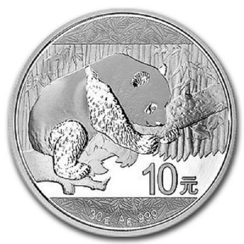 30 g Silber China Panda 2016