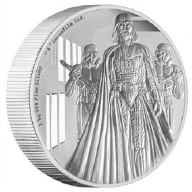 1kg Kilo Silber Darth Vader Star Wars Nieu