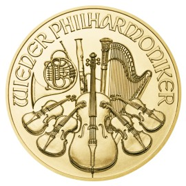 1 oz Wiener Philharmoniker Gold 2019